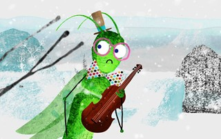SHORTS FOR KIDS 5 & UP: LET'S PLAY A STORY - THE ANT AND THE GRASSHOPPER